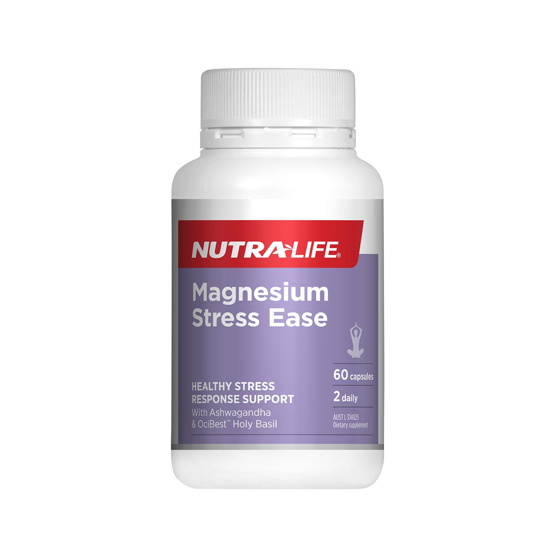 마그네슘 스트레스 완화 60캡슐