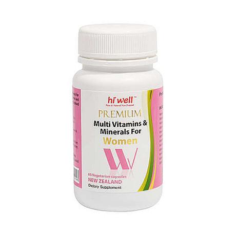프리미엄 멀티비타민 미네랄 여성용 60캡슐